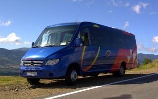MInibus en Barcelona