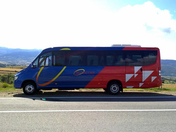 Alquiler de minibus 32 plazas